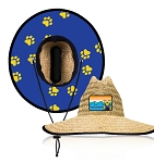 Hat - Straw Hat with Panther Wave Patch